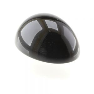 40x30 Cabochon oval  in schwarz