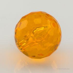 14mm Feuerballperle in orange