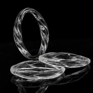 31x21 oval geschwungen in kristall