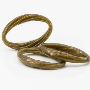 40x27 oval geschwungen in khaki braun goldshadow