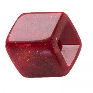 45x36 geometrischer Schaal halter in rot