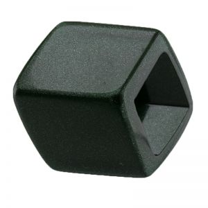 45x36 geometrischer Schaal halter in tannengrün leuchtend