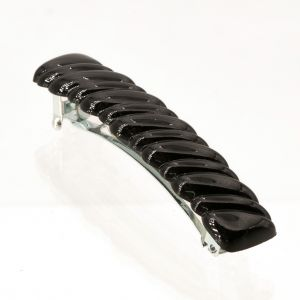 6x1cm Hair clip knot in black