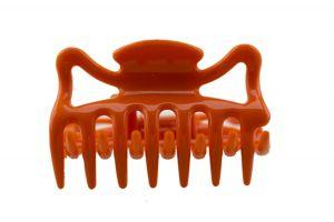 6cm Haarkralle in orange