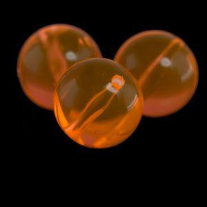 22mm Rundperle in neon orange