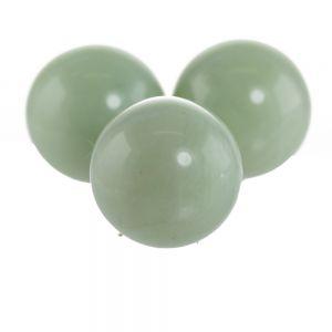25mm Rundperle in jade