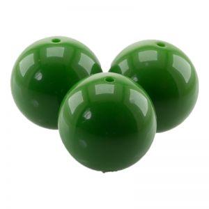 25mm Rundperle in grün