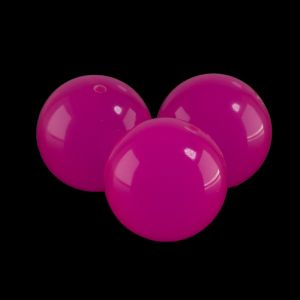 6mm Rundperle in neon pink