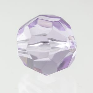 8mm Facettenperle in violett