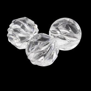 18mm Perle Gravur in kristall