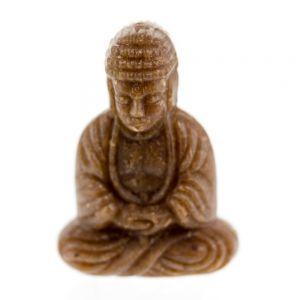 25x18 Sitzender Buddha in dunkelbraun Scinagro