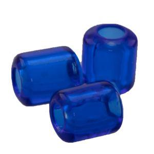 10x8 Röhrchen perle  in blau