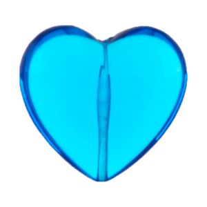 28mm Herz perle in nachtblau