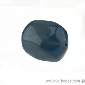 26x20 Barock walze in dunkel grau opal