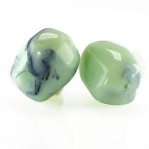 23x18 Barock walze in mint grün