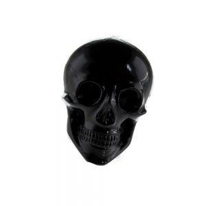 20x14 Totenkopf in schwarz
