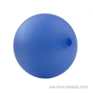 10mm Polaris Perle  in veilchenblau  Matt