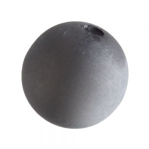 12mm Polaris Perle  in staubgrau  Matt