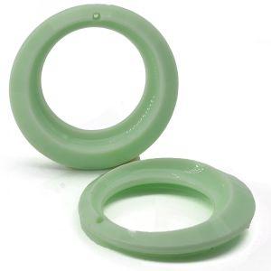 35mm anhänger rund in mintgrün