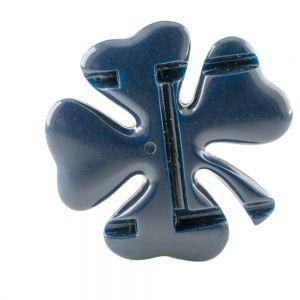 62mm Kleeblatt in stahlblau