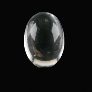 8x6 Cabochon oval in kristall verspiegelt