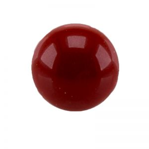 10mm Cabochon in blutrot