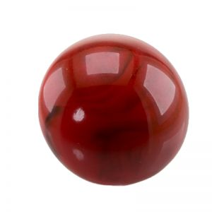 20mm Cabochon in tomatenrot