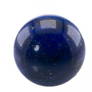 20mm Cabochon in lapislazuli blau   / Goldflitter