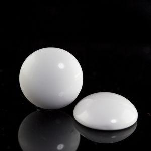24mm Cabochon in weiß