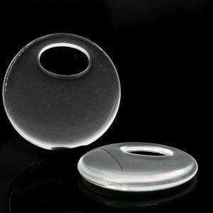 28mm Elypsen ring in kristall
