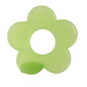 35mm Blume in apfelgrün  Matt