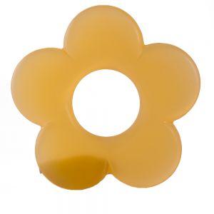 50mm Blume in aprikose  Matt