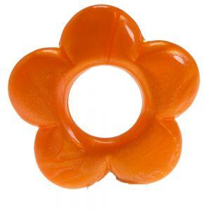 35mm Blume in orange
