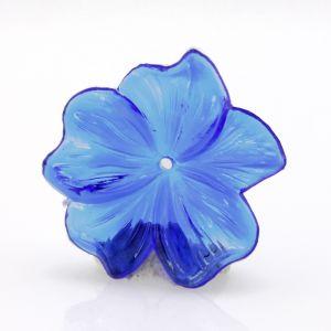 25mm Blüte  in blau