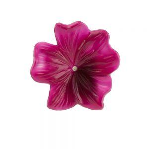 25mm Blüte  in himbeerrosa