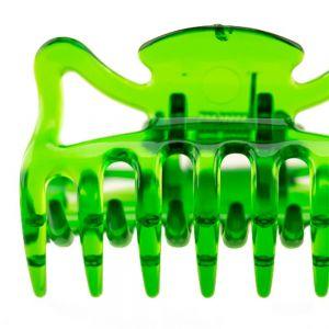 6cm Haarkralle in emerald grün