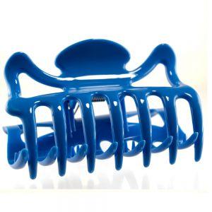 9cm Haarkralle groß in veilchenblau