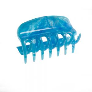 6cm Haarkralle in hellblau