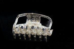 6cm Haarkralle in kristall