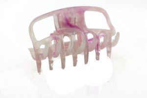 6cm Haarkralle in rosa