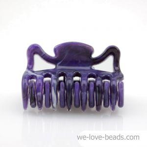 3,5cm Haarkralle mini in lila