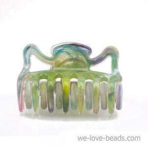3,5cm Haarkralle mini in multicolor