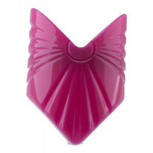 56x80 Großer Zopfhalter dreieck in pink