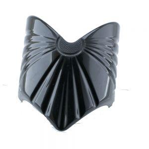 56x80 Großer Zopfhalter dreieck in schwarz