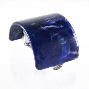 5,6x4cm Zopfhalter in lapisblau