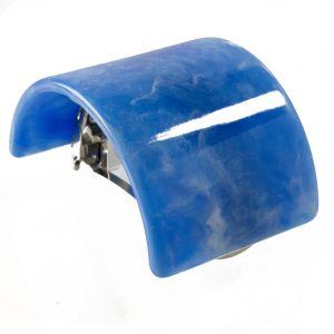 5,6x4cm Zopfhalter in lichtblau