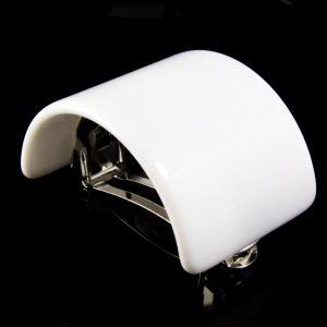 5,6x4cm Zopfhalter in weiß